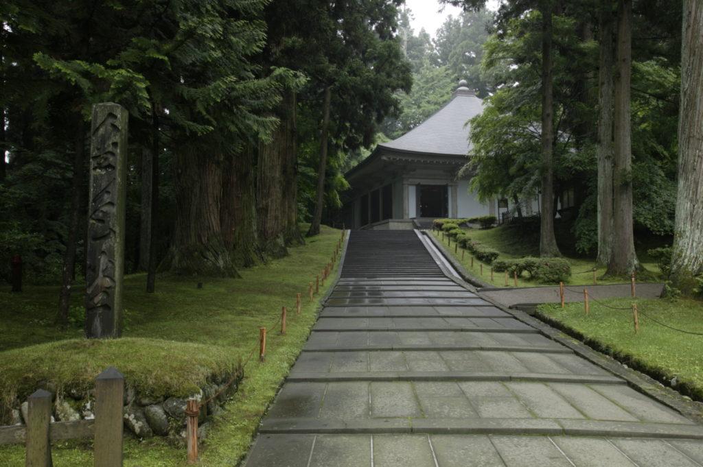 中尊寺新覆堂
